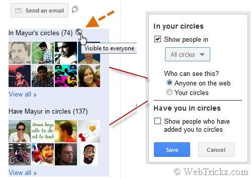 manage circle box