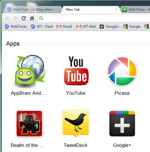 Google+ web app_chrome