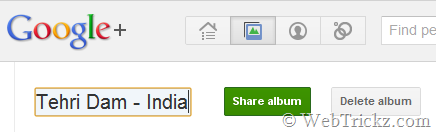 Rename albums_Googleplus