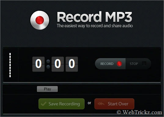 Record-MP3-online