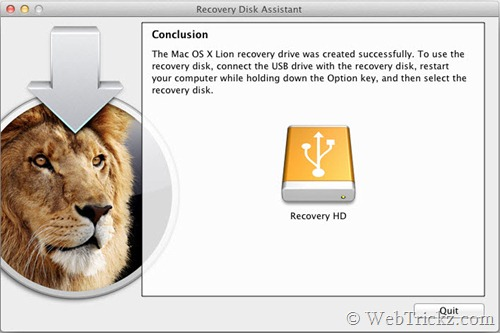Recovery Disk Assistant_lion