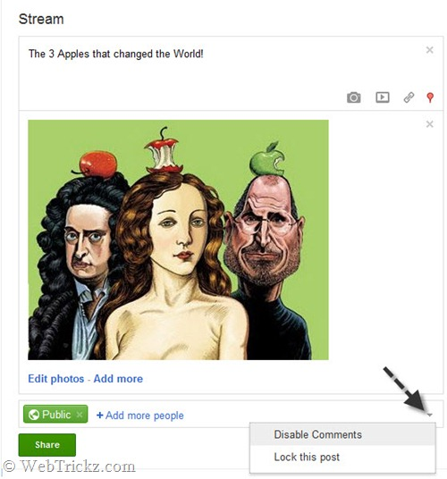 disable-comments-lock-post_google-plus