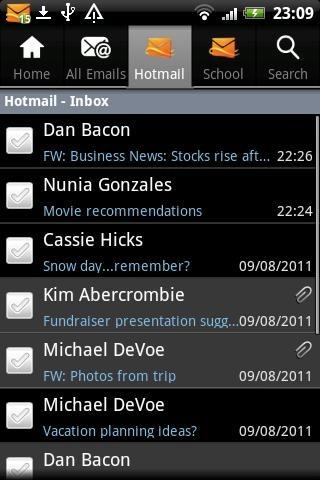 Android এর জন্য Hotmail App