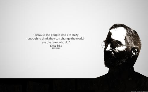 Steve Jobs (১৯৫৫-২০১১) কে নিয়ে আমার ছোট্ট একটি প্রতিবেদন