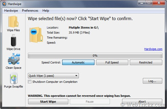 Hardwipe_wipe data