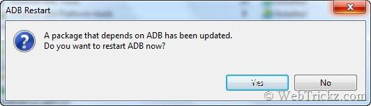restart ADB