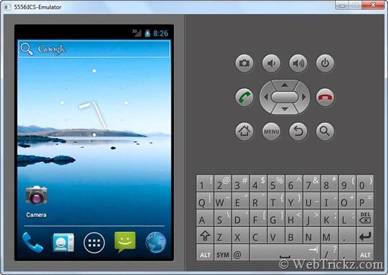 Android 4.0 ICS Emulator