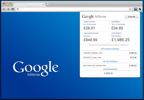 Adsense Publisher Toolbar_chrome