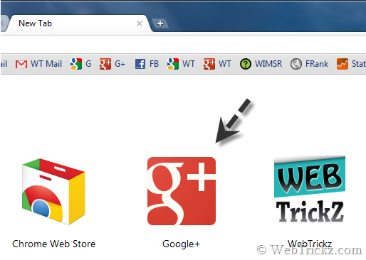 Google plus web app_chrome