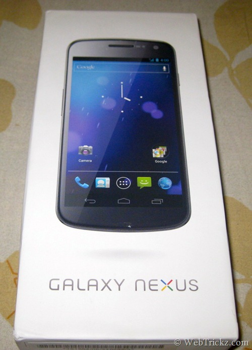 Galaxy Nexus-box