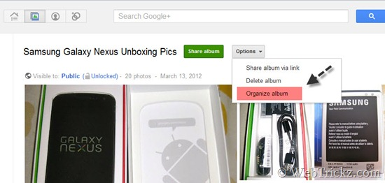 Google-plus-album-options