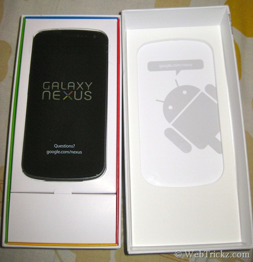 Galaxy Nexus_front view