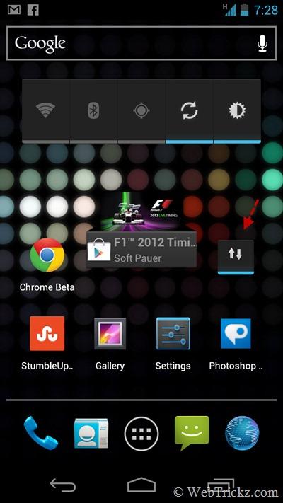 Data Enabler Widget_android