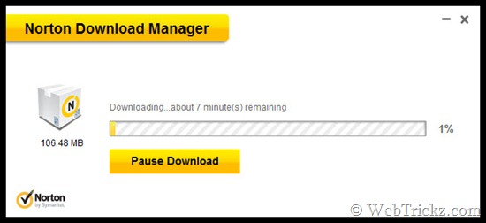 Norton Download Manager