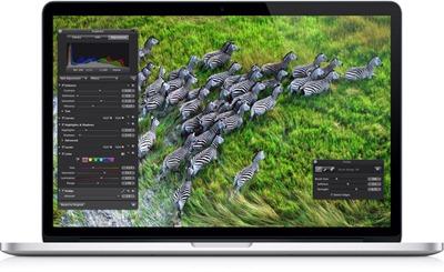 new macbook pro retina display