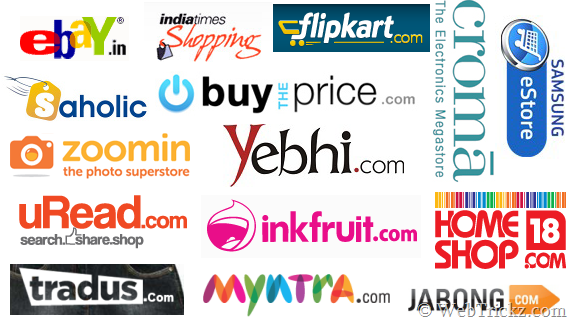 Best of e commerce online shopping sites in india for Online websites for shopping