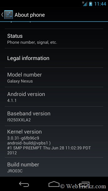 galaxy-nexus_android 4.1.1 jelly bean