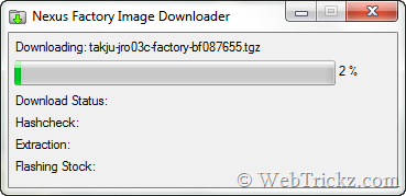 Nexus Factory Image Downloader