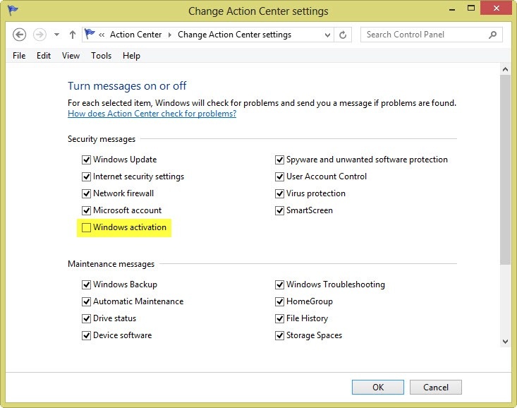 Turn off 'Activate Windows now' notification in Windows 8