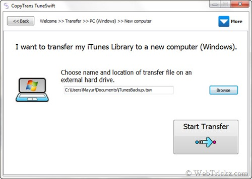How to Transfer the ITunes Library From One PC to