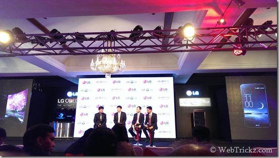 LG event India