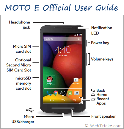 Download Moto E User Guide In English Amp Hindi