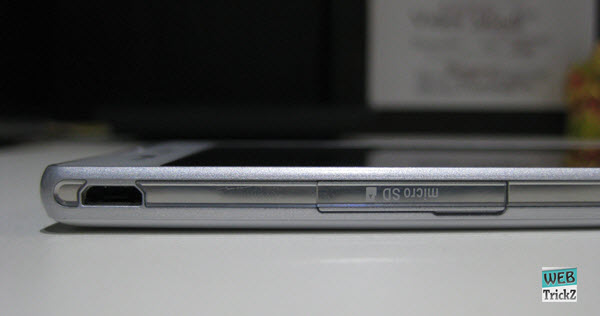 Xperia T2 Ultra micro sd card slot