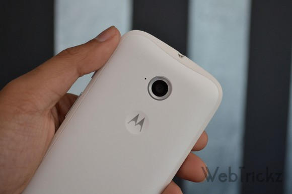 Moto E 2nd Gen 5MP rear camera