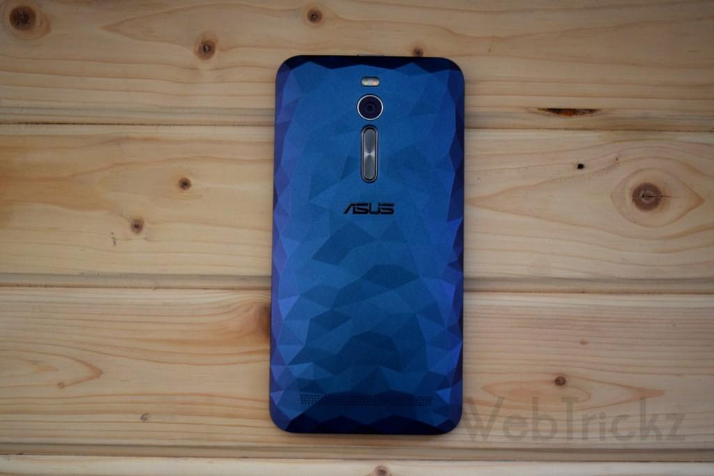 Zenfone 2 Deluxe Purple Polygon