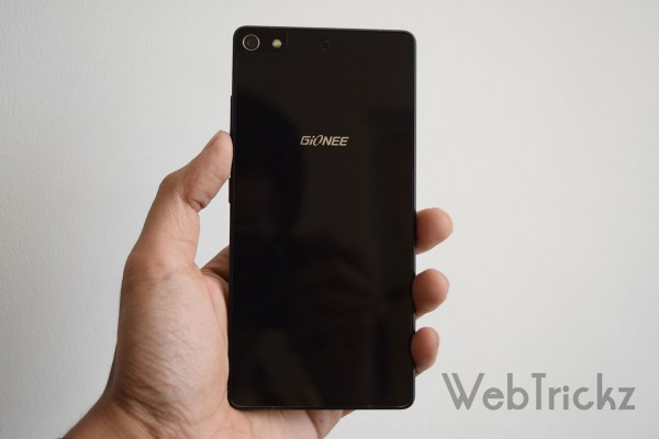Gionee Elife S7 back view