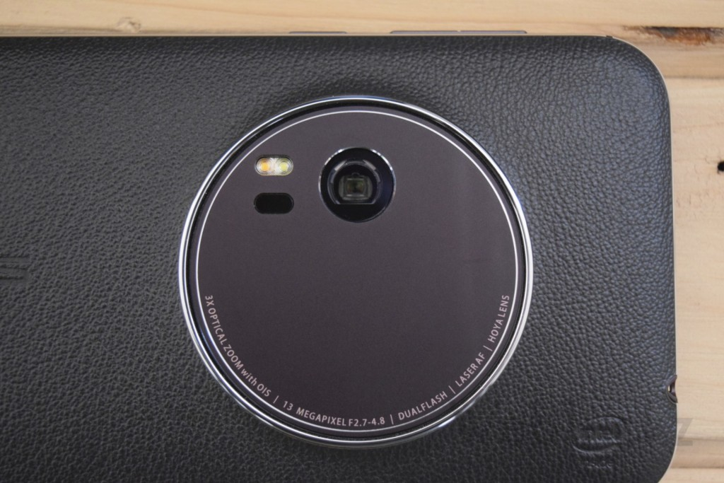 Zenfone Zoom camera with 3x optical zoom