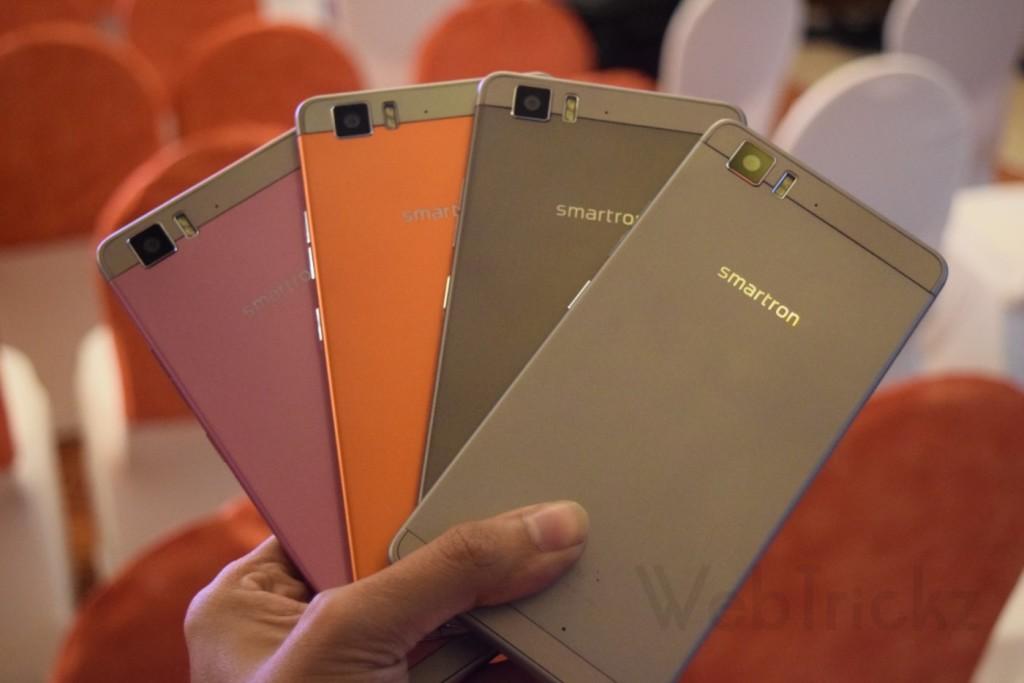 Smartron t.phone colors