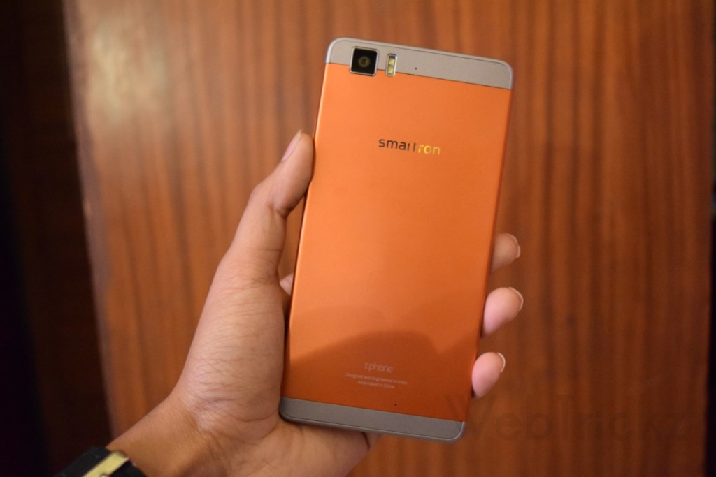 Smartron tphone orange