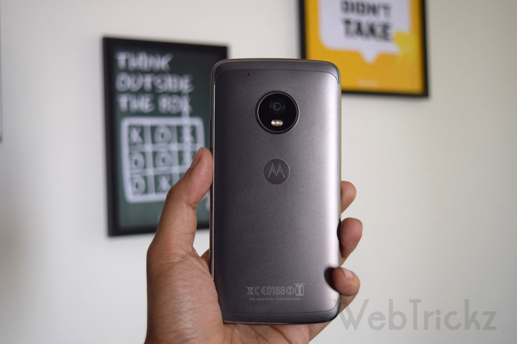 Moto G5 Plus Lunar Grey