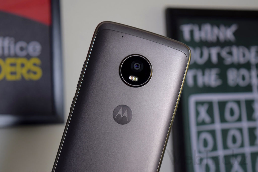 Moto G5 Plus rear camera