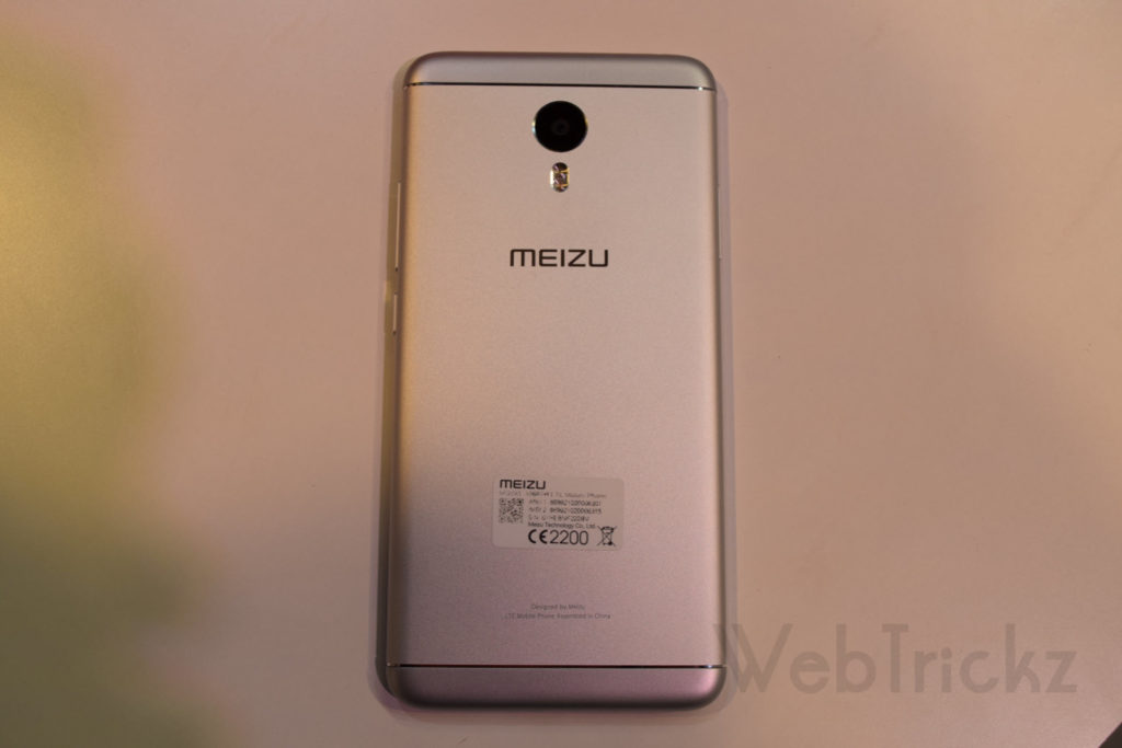 Meizu M3 Note_back