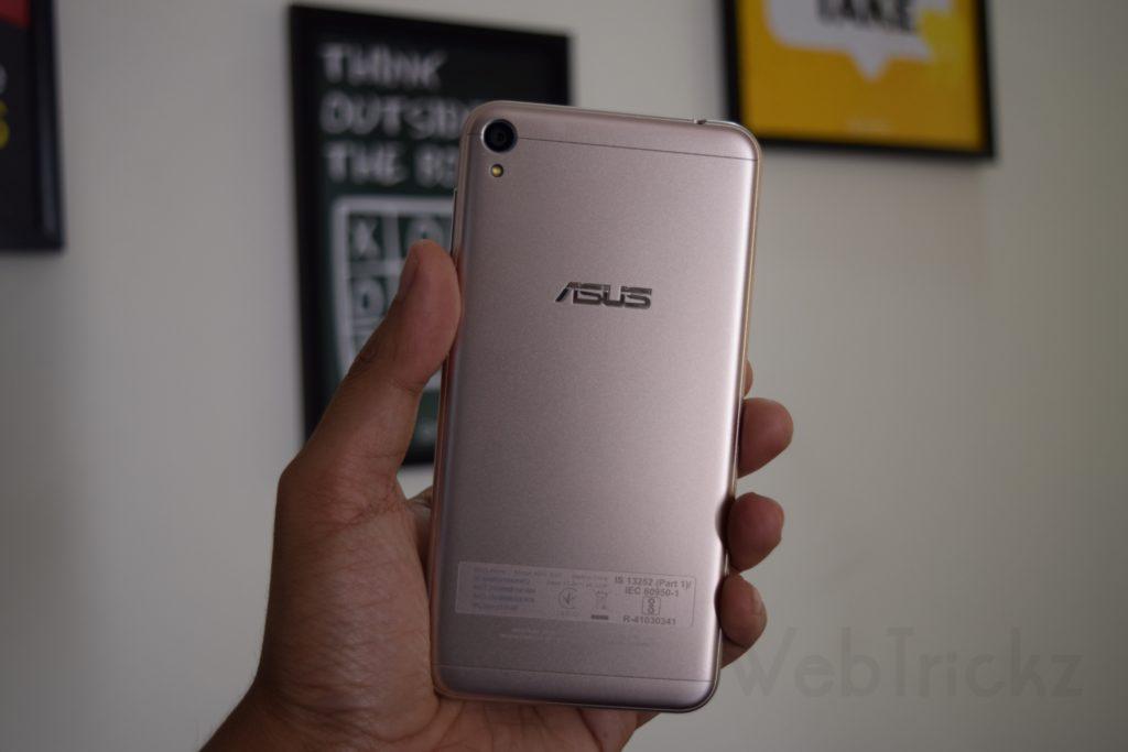 Asus Zenfone Live_Shimmer Gold