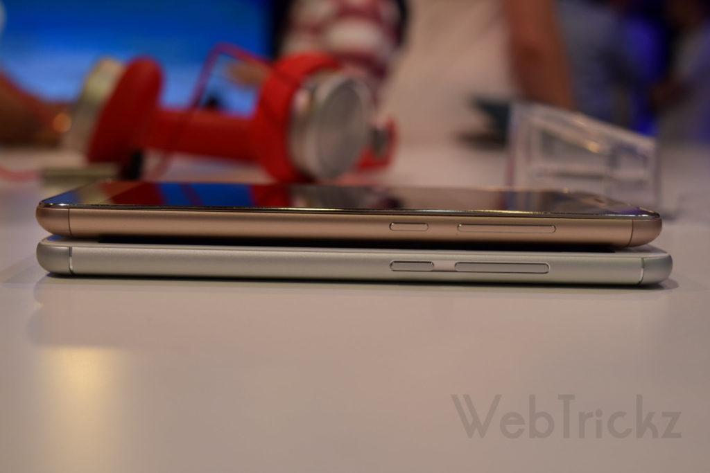 Redmi Note 3 vs Meizu M3 Note_Side-view