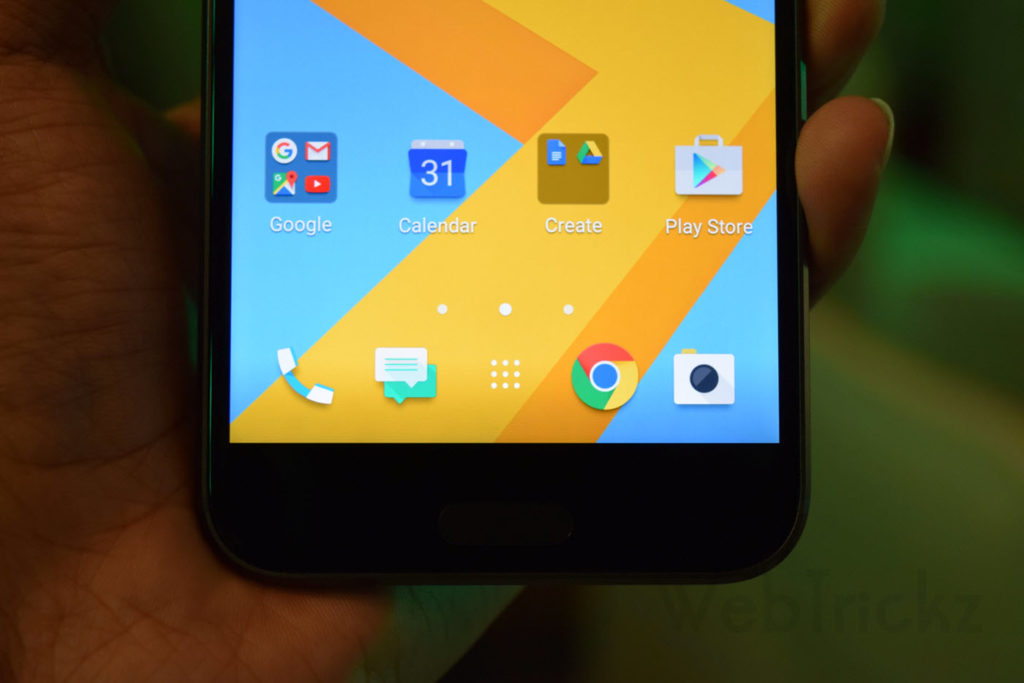 HTC 10 Display