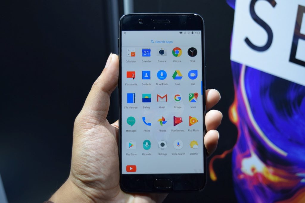 OnePlus 5 Oxygen OS Pre-installed apps
