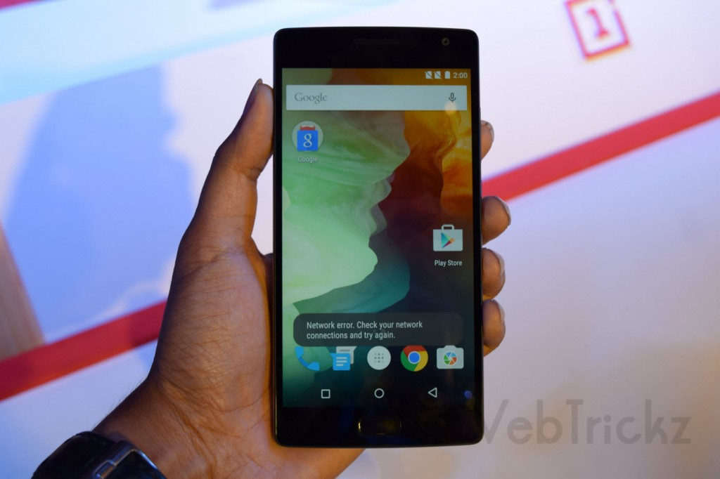 OnePlus 2 front view