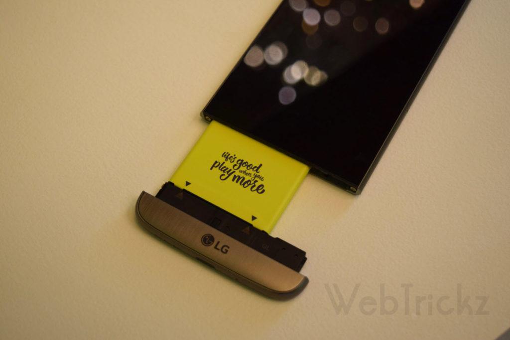 Modular design battery