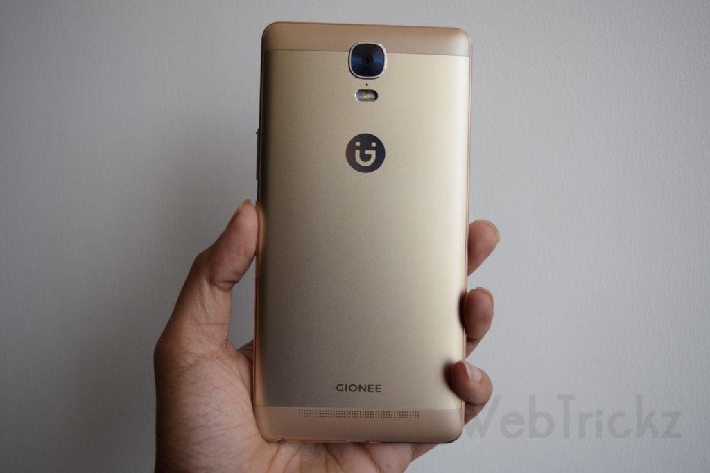 Gionee M5 Plus-back