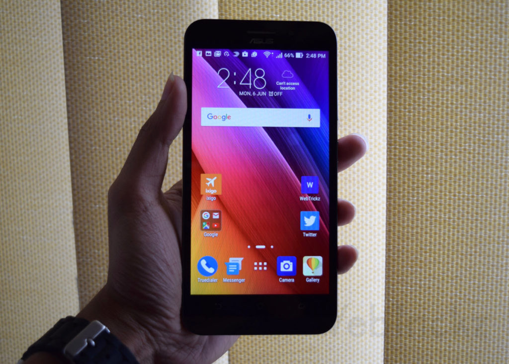 Zenfone Max 5.5-inch HD display