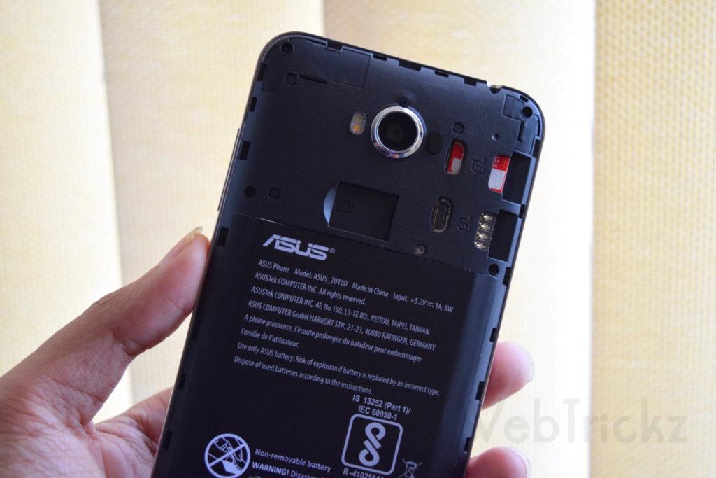 Dual micro-SIM & microSD card slot