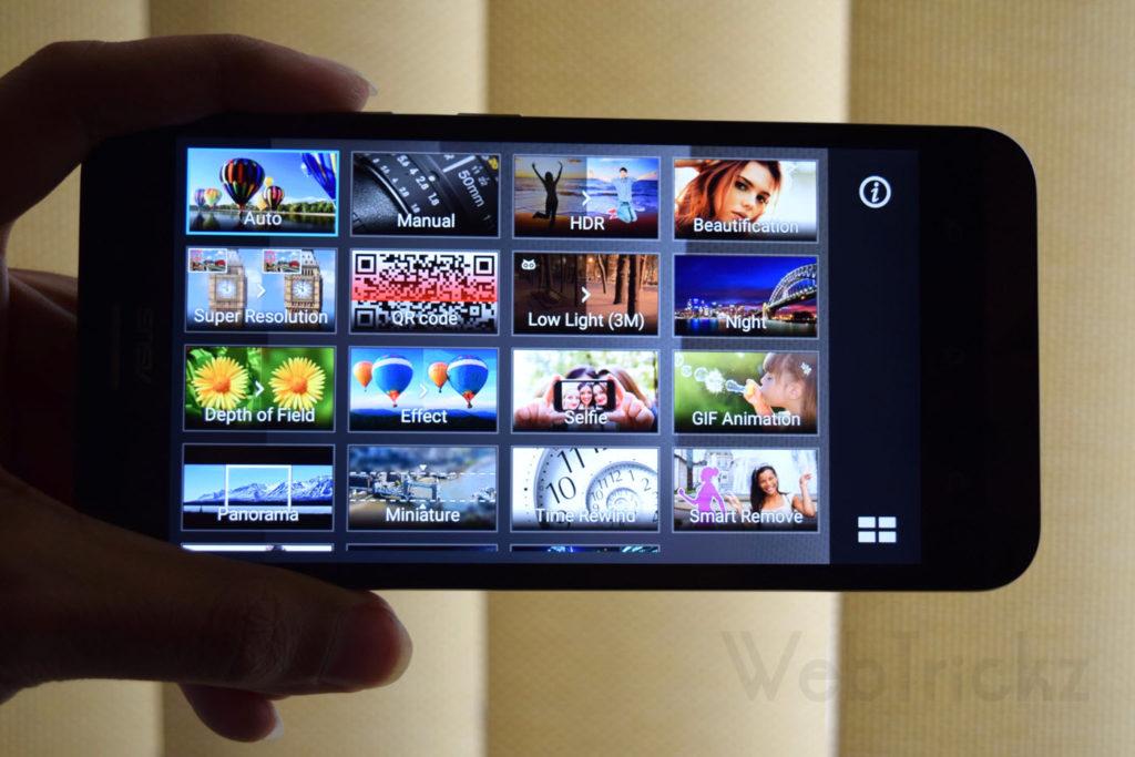 Zenfone Max_Camera Modes