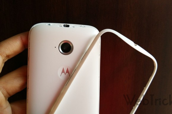 Moto E 2015 Removable Band