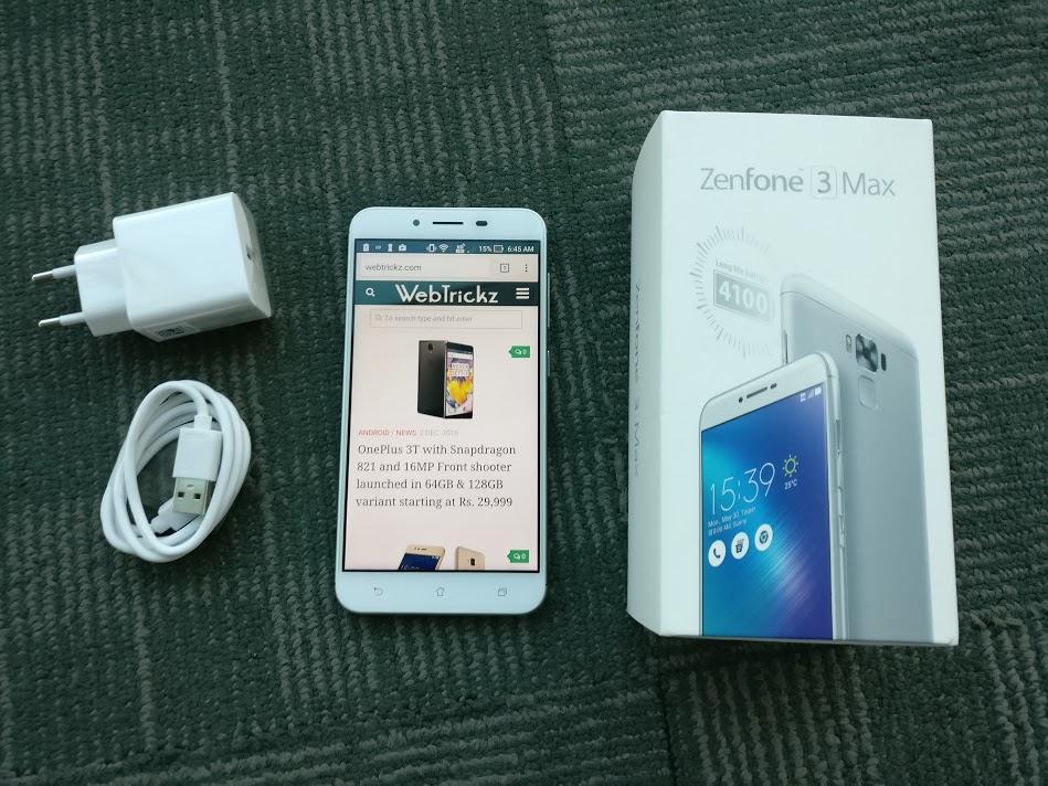 Zenfone 3 Max-contents