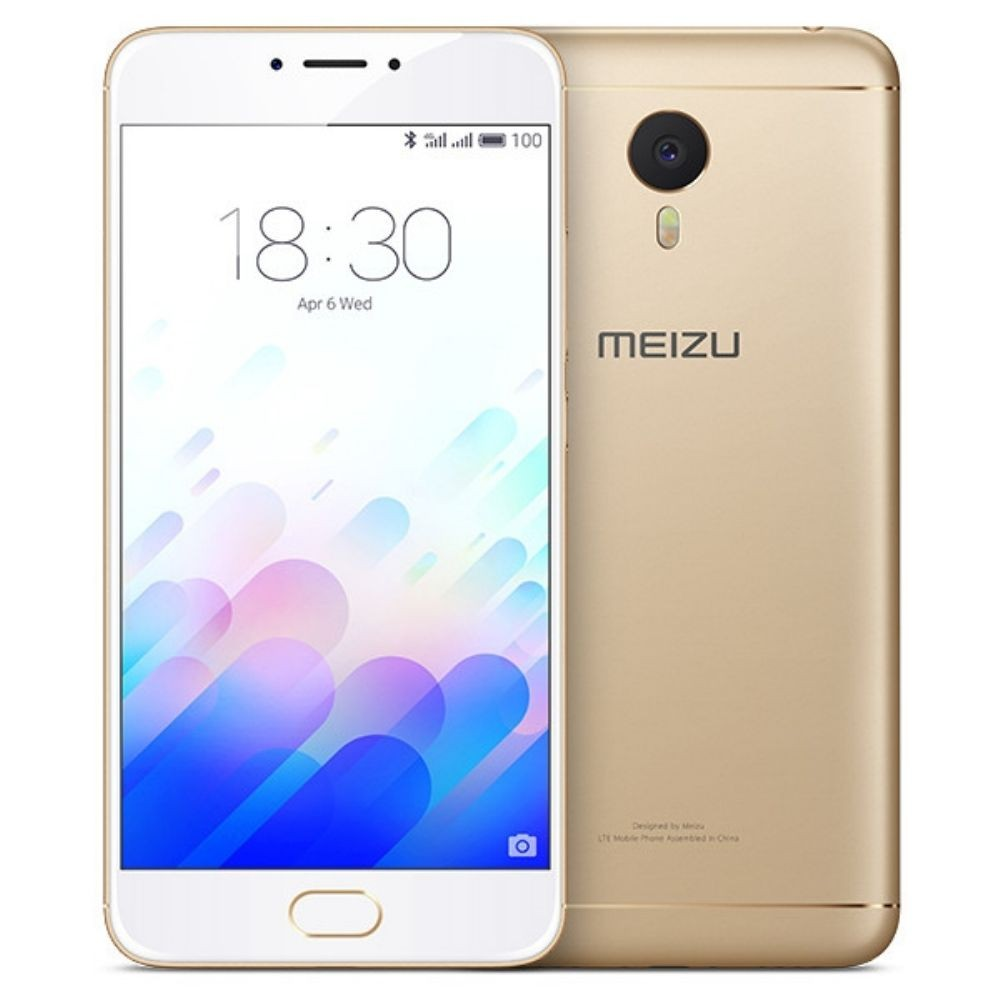 Meizu M3 Note_Gold