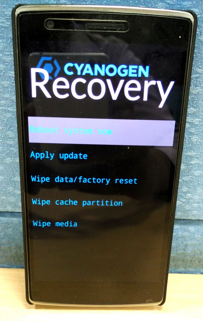 CM Recovery 6
